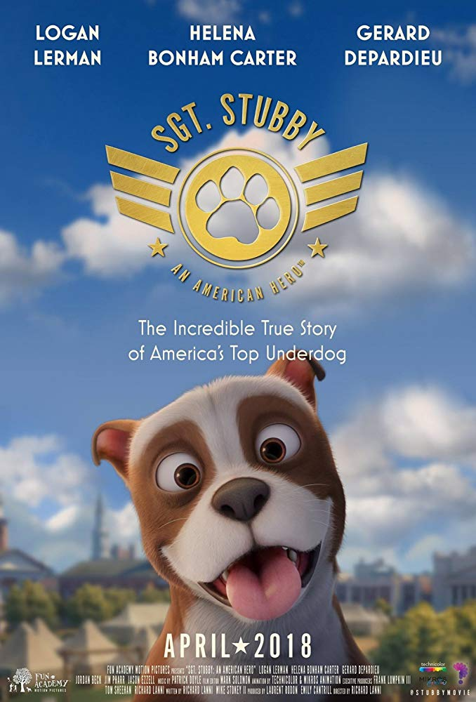 Sgt Stubby An American Hero 2018 720p WEB-DL XviD AC3-FGT