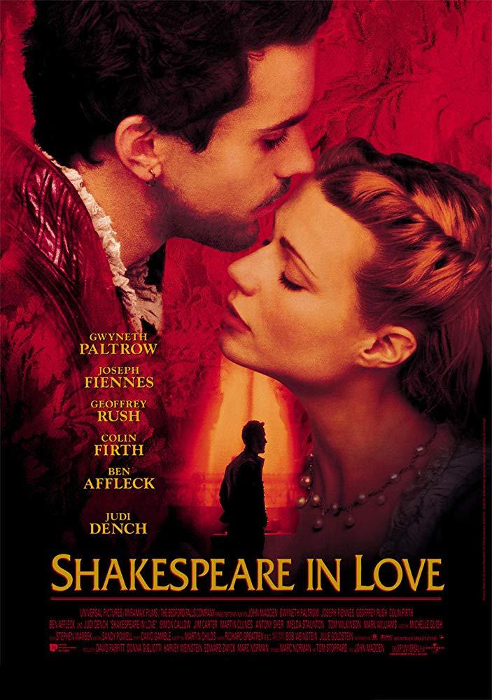 Shakespeare In Love 1998 BRRip XviD MP3-XVID