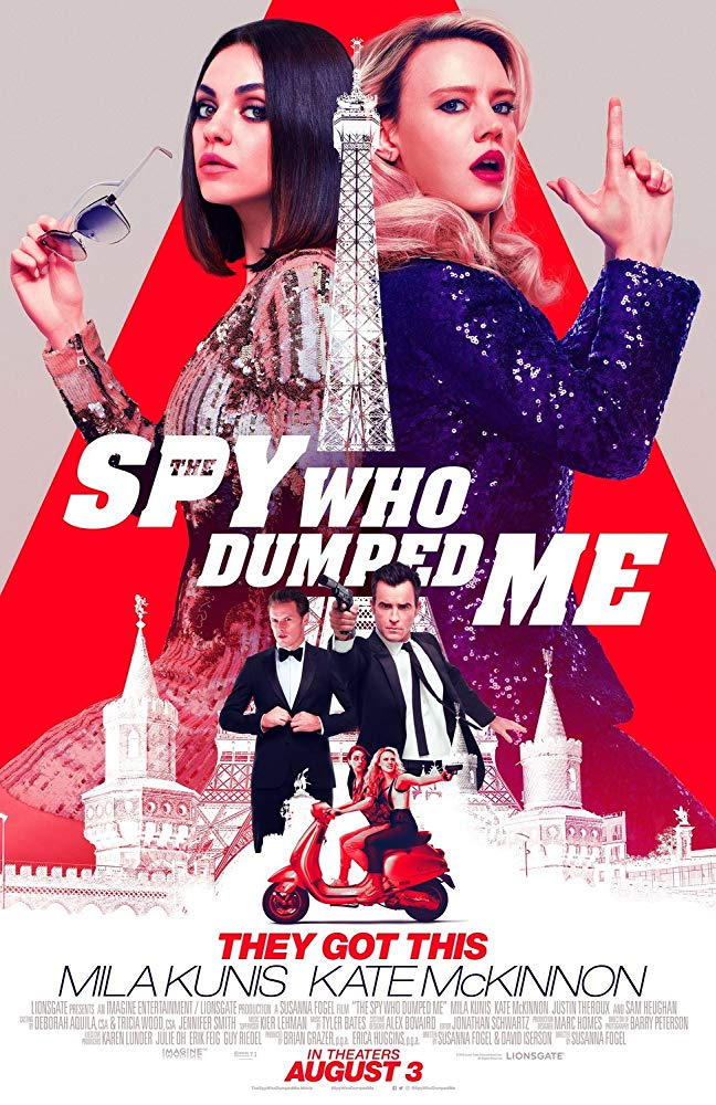 The Spy Who Dumped Me 2018 PROPER 720p HDCAM HQ x264 NL Sub-NTG