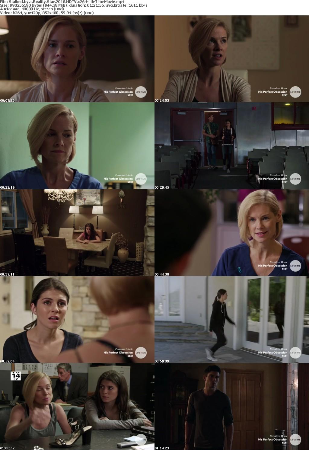 Stalked by a Reality Star (2018) HDTV x264-LifeTimeMovie