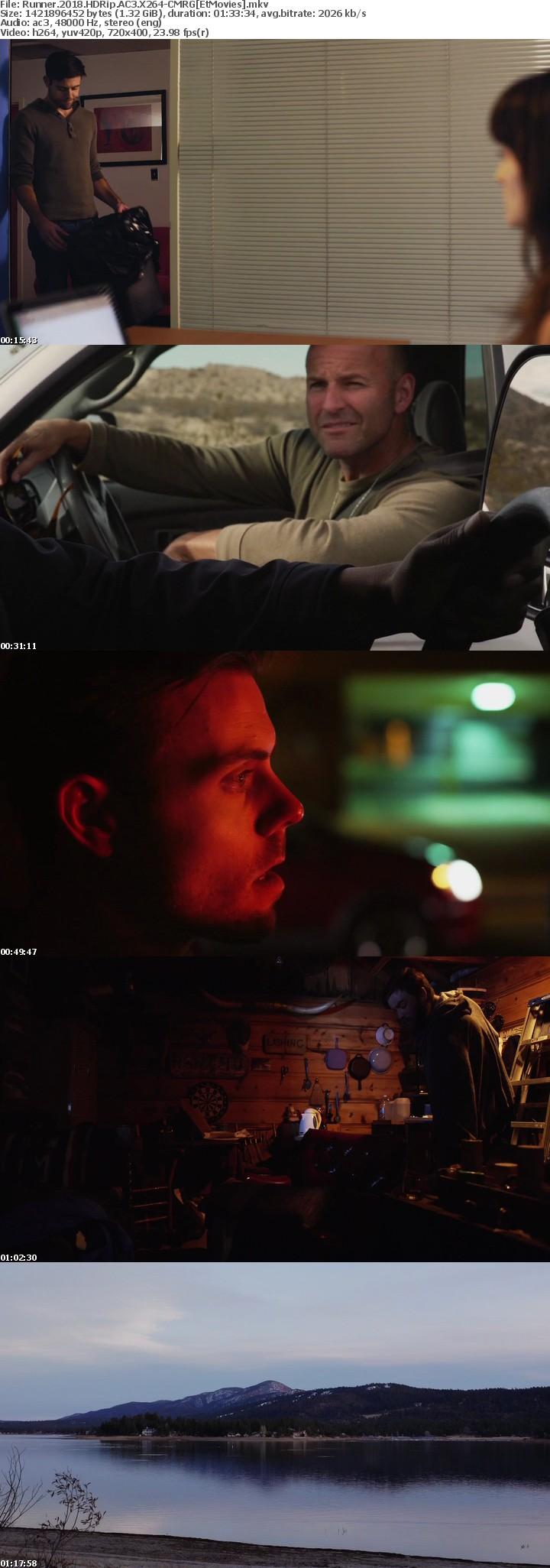 Runner 2018 HDRip AC3 X264-CMRG[EtMovies]