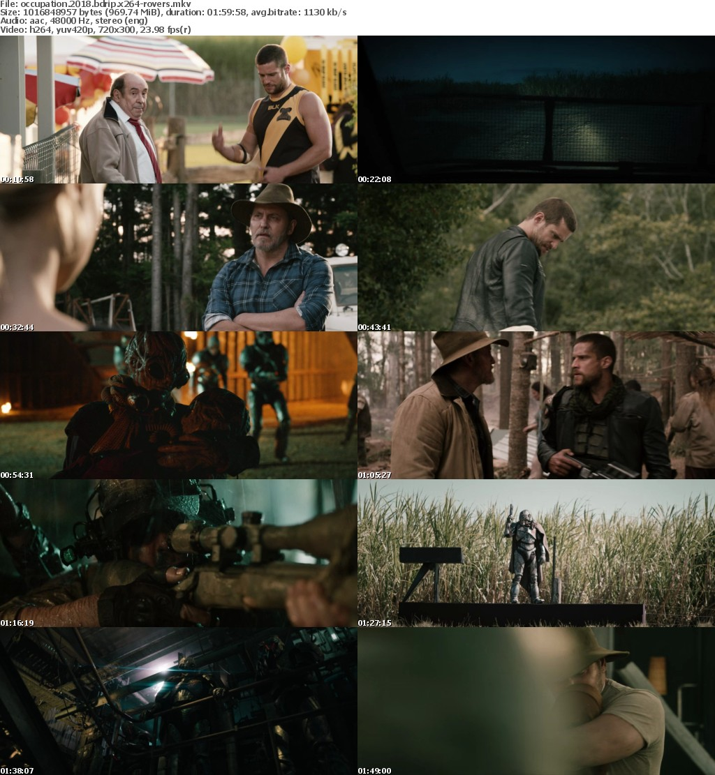 Occupation (2018) BDRip x264-ROVERS