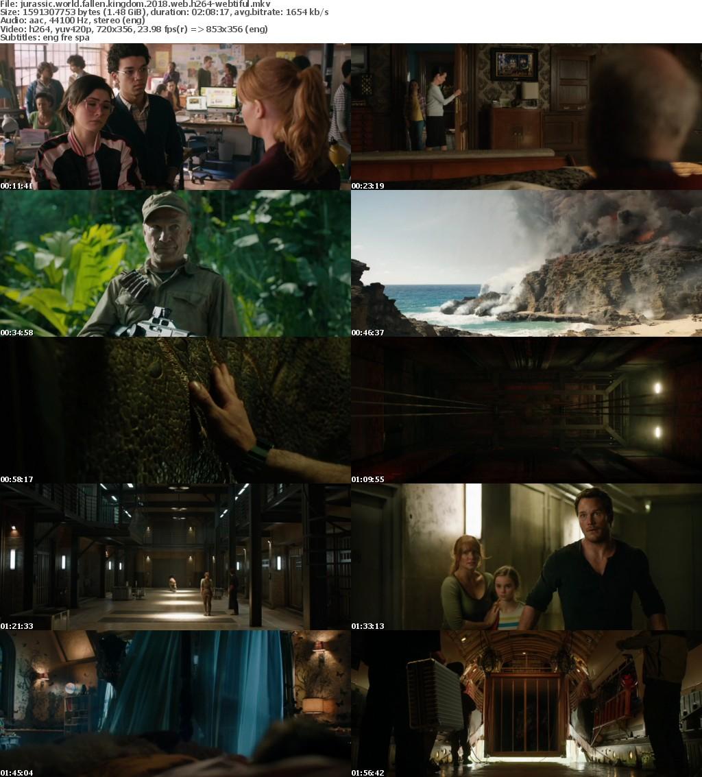 Jurassic World Fallen Kingdom 2018 WEB h264-WEBTiFUL