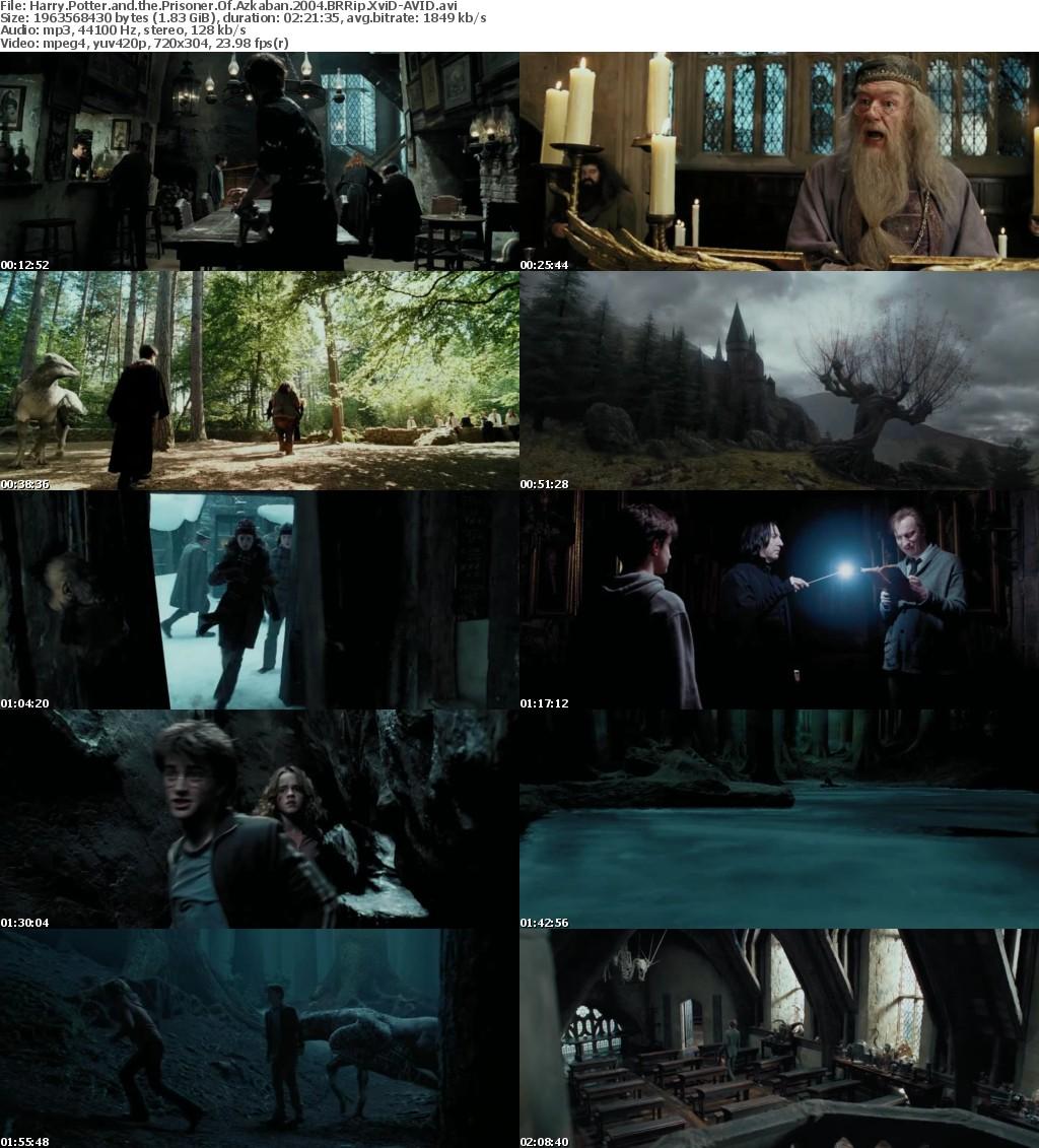 Harry Potter and the Prisoner Of Azkaban 2004 BRRip XviD-AVID