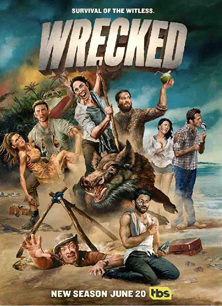Wrecked S03E08 HDTV x264-CRAVERS
