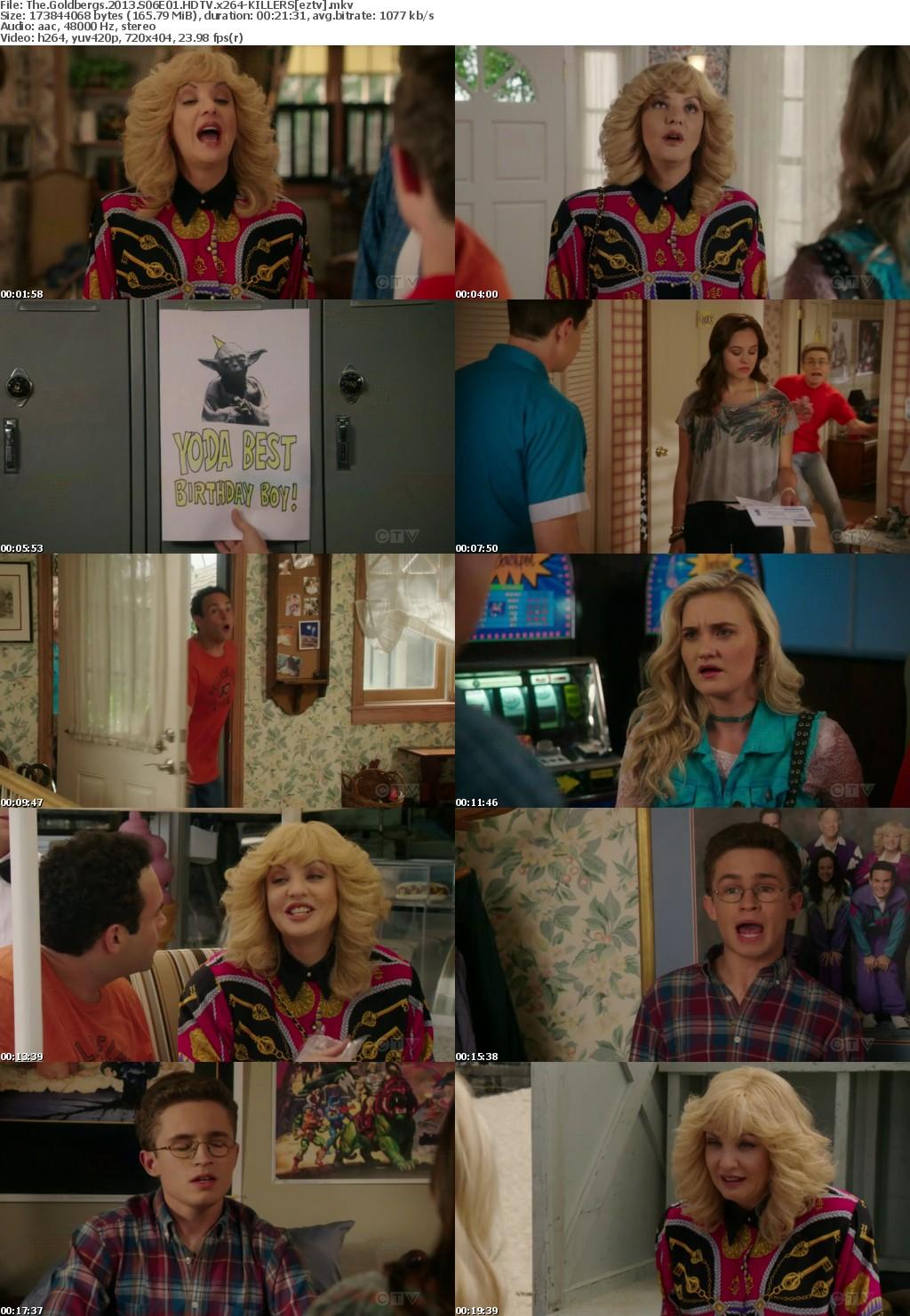 The Goldbergs 2013 S06E01 HDTV x264-KILLERS