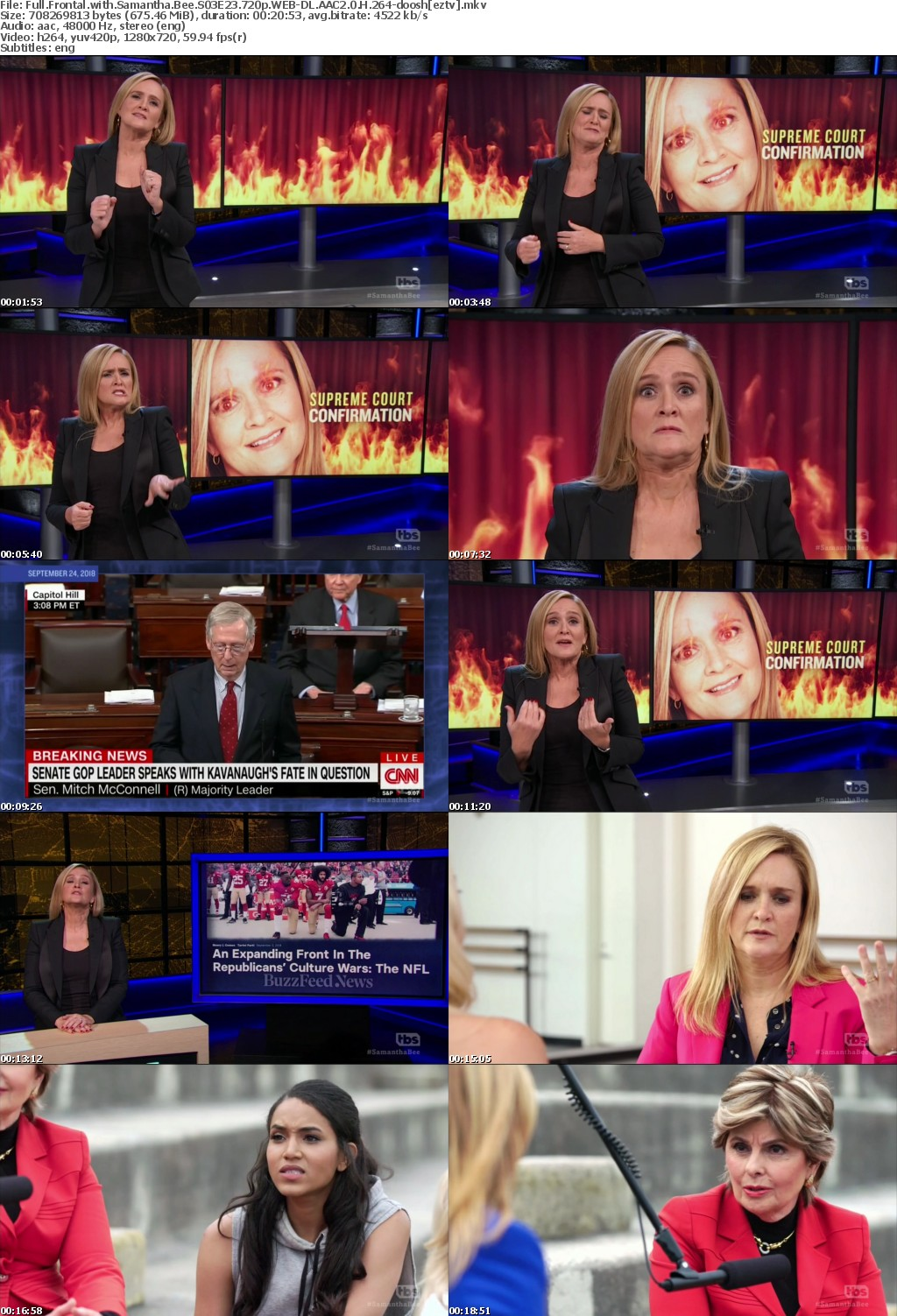 Full Frontal with Samantha Bee S03E23 720p WEB-DL AAC2 0 H 264-doosh
