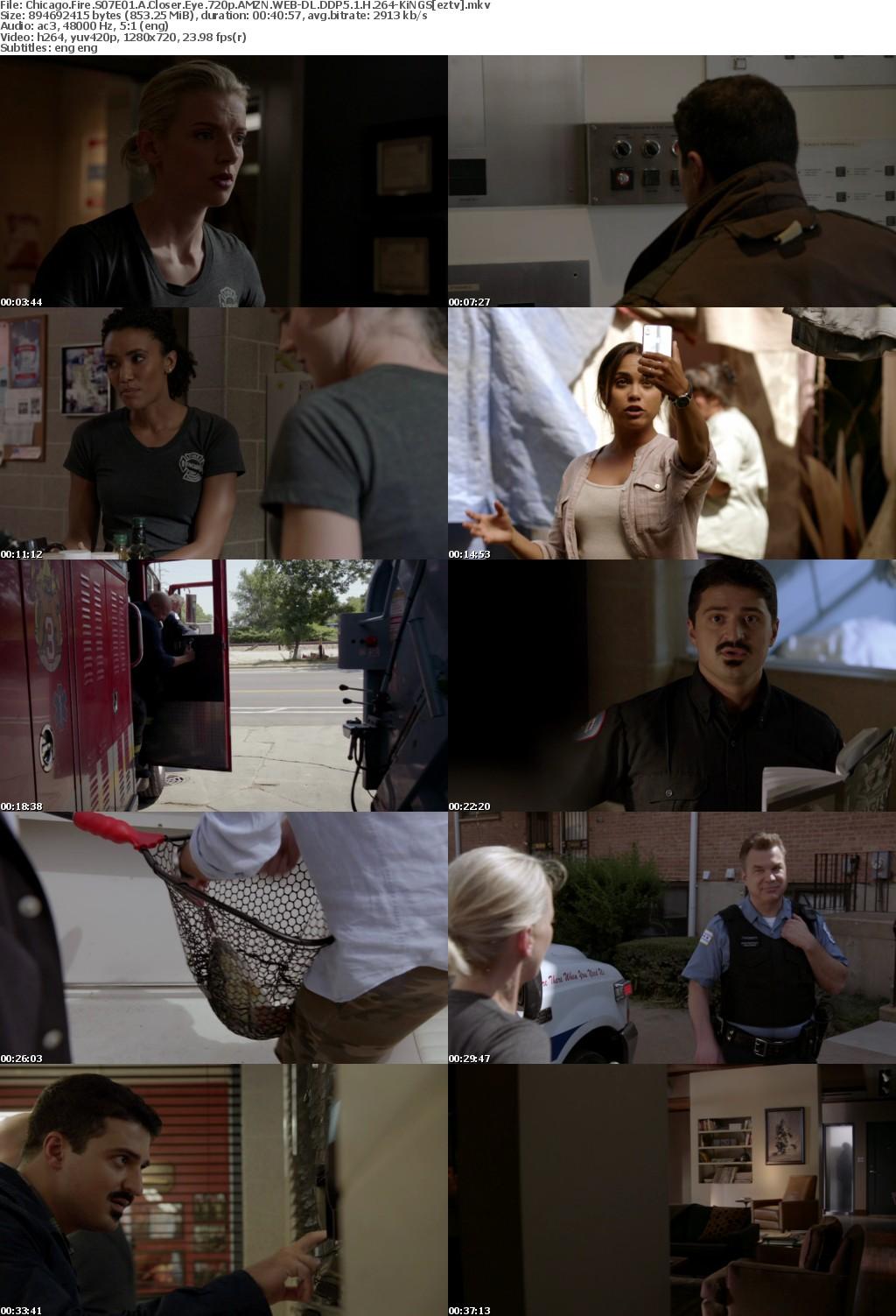 Chicago Fire S07E01 A Closer Eye 720p AMZN WEB-DL DDP5 1 H 264-KiNGS