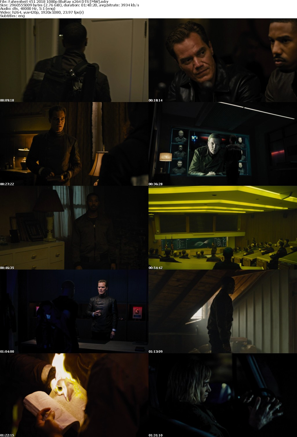 Fahrenheit 451 2018 1080p BluRay x264 DTS MW