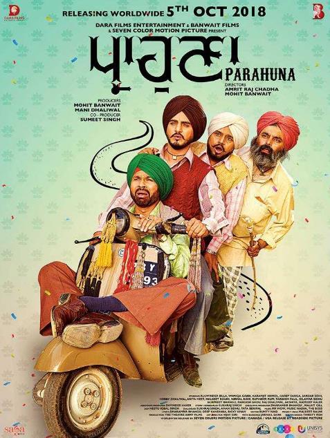 Parahuna (2018) Punjabi 1CD Pre-CAMRip x264-DLW