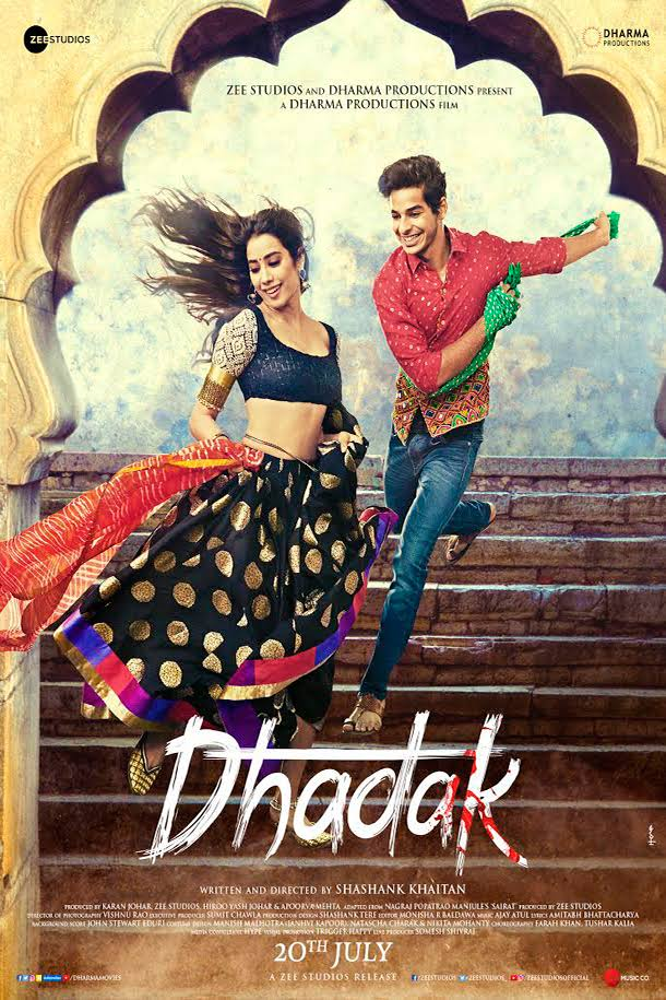 Dhadak 2018 x264 720p HD Esub Hindi GOPISAHI