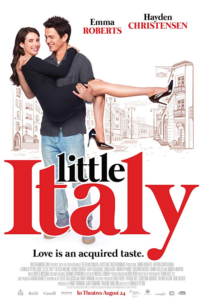 Little Italy 2018 HDRip XviD AC3 With Sample LLG