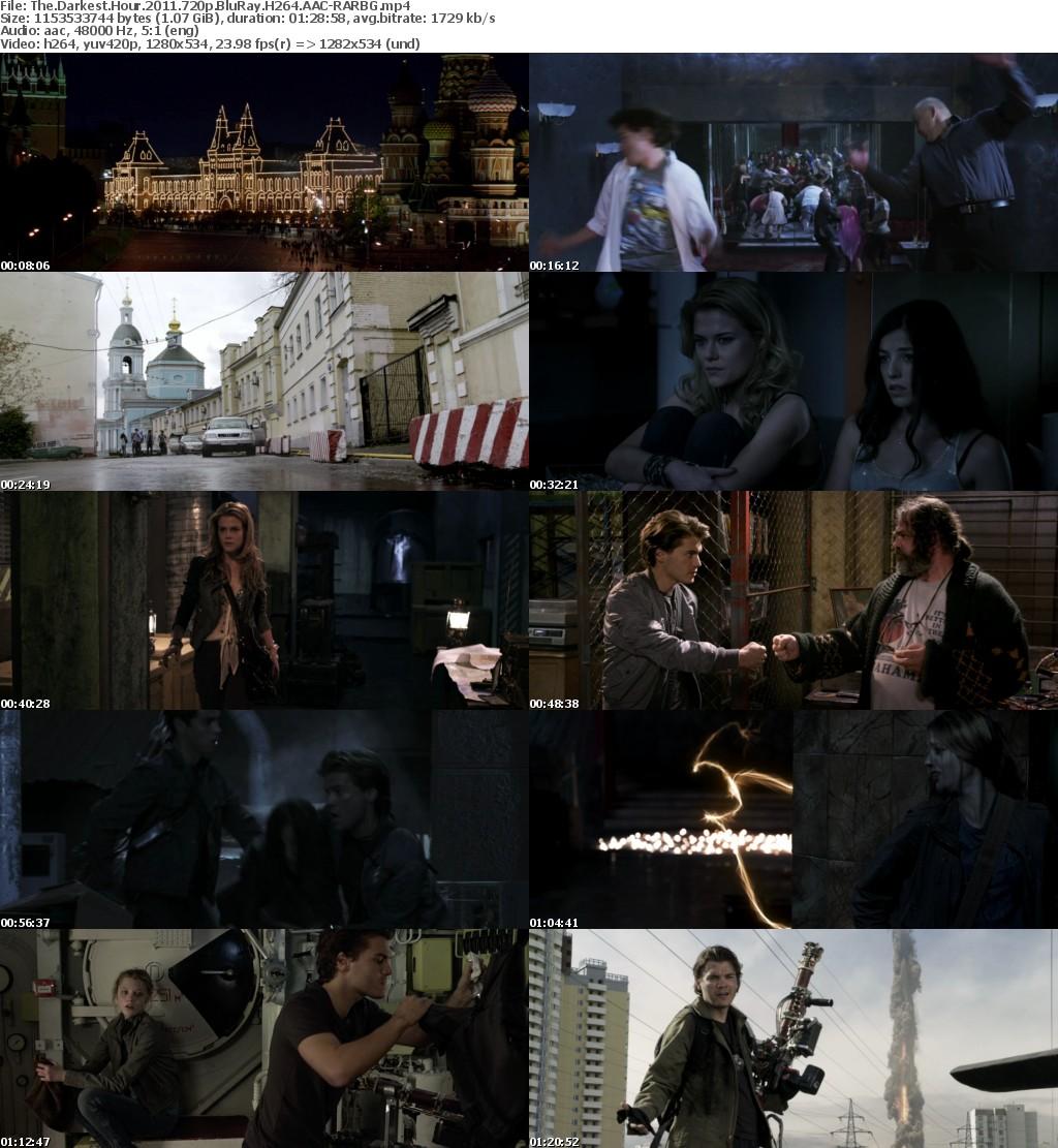 The Darkest Hour (2011) 720p BluRay H264 AAC-RARBG