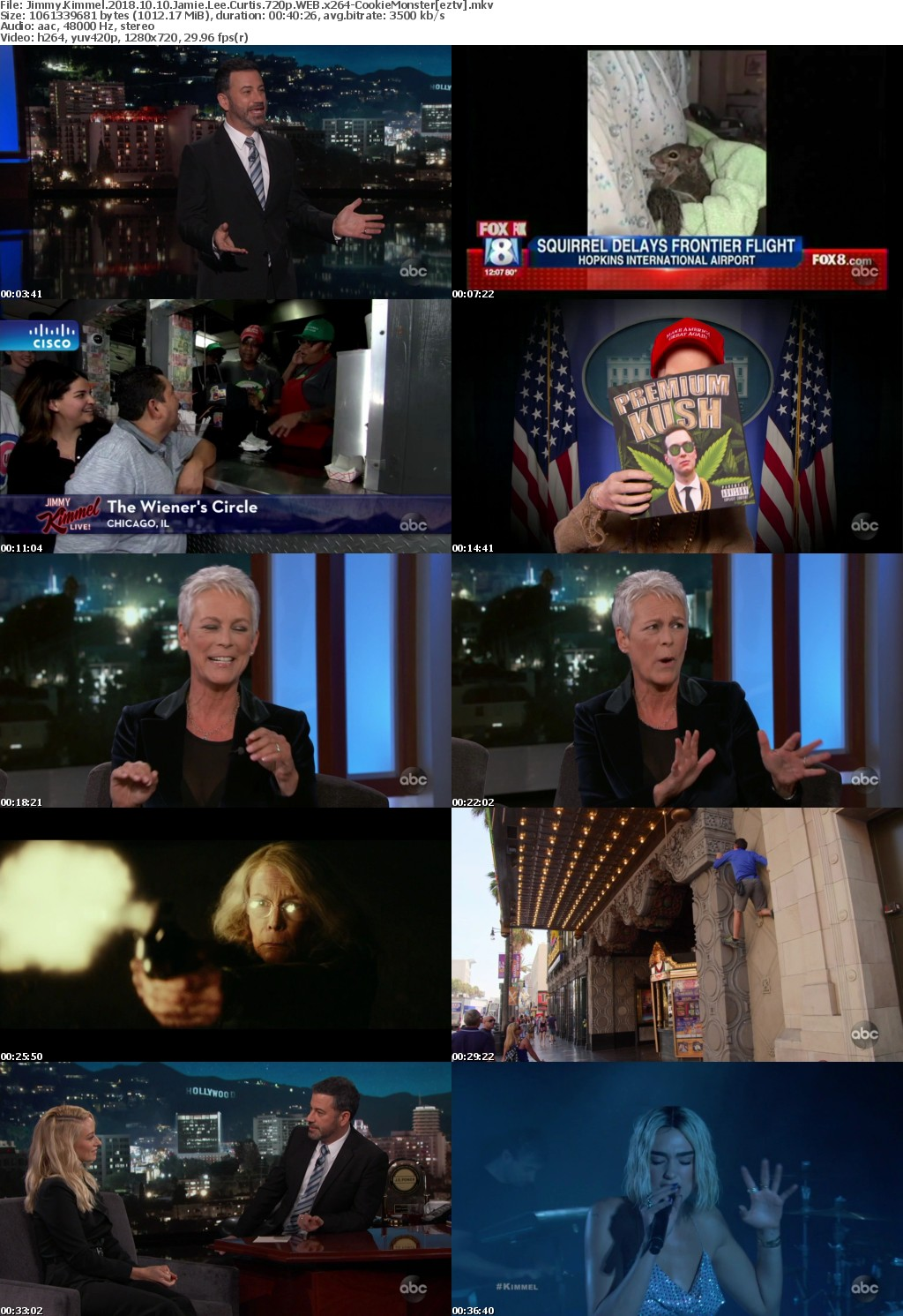 Jimmy Kimmel 2018 10 10 Jamie Lee Curtis 720p WEB x264-CookieMonster