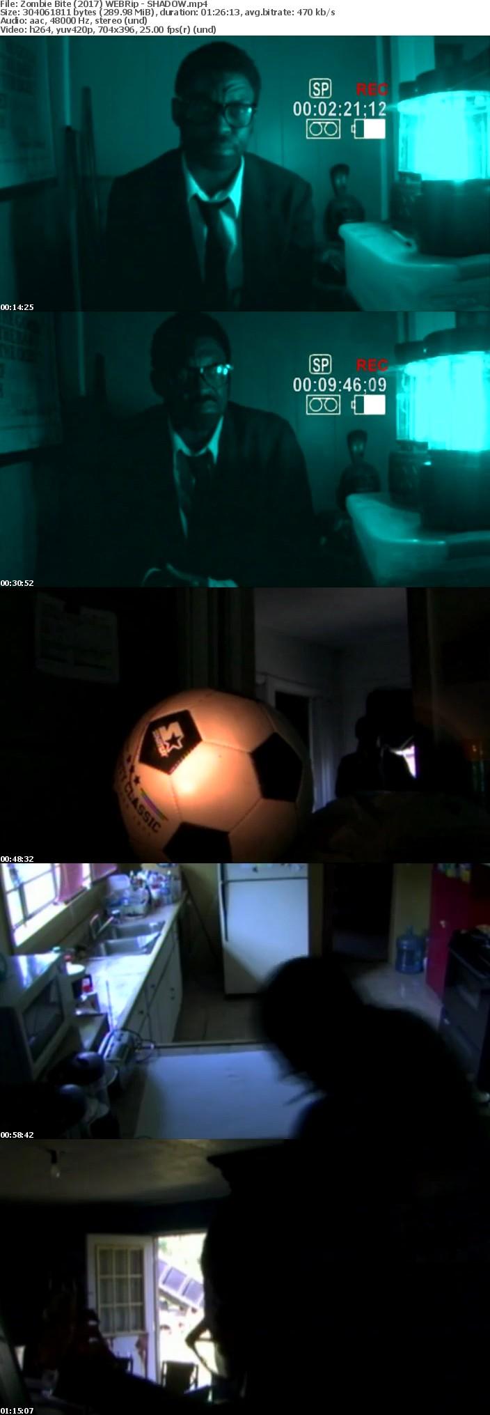 Zombie Bite (2017) WEBRip - SHADOW[TGx]
