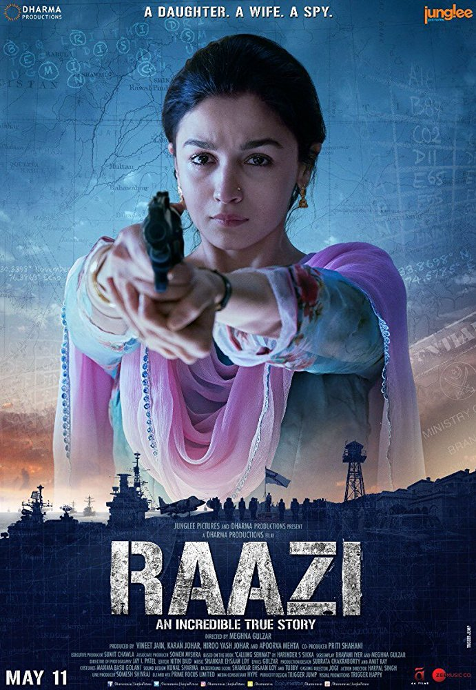 Raazi (2018) [BluRay] [720p] YIFY