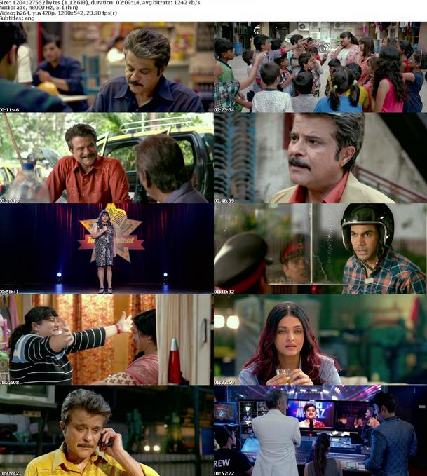 Fanney Khan 2018 WebRip Hindi 720p x264 AAC 5 1 ESub - mkvCinemas