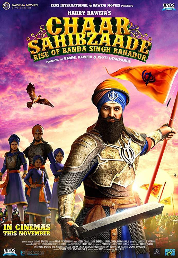 Chaar Sahibzaade: Rise of Banda Singh Bahadur (2016) Hindi 720p WEB-HD x264 AC3 ESub-Sun George