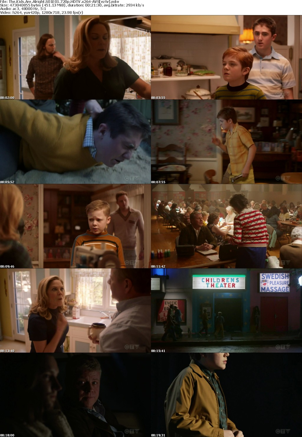 The Kids Are Alright S01E01 720p HDTV x264-AVS
