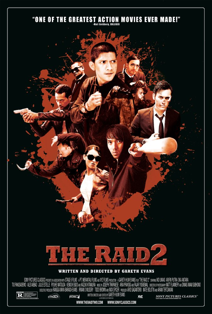 The Raid 2 2014 BDRip x264-GECKOS (BG SUB)