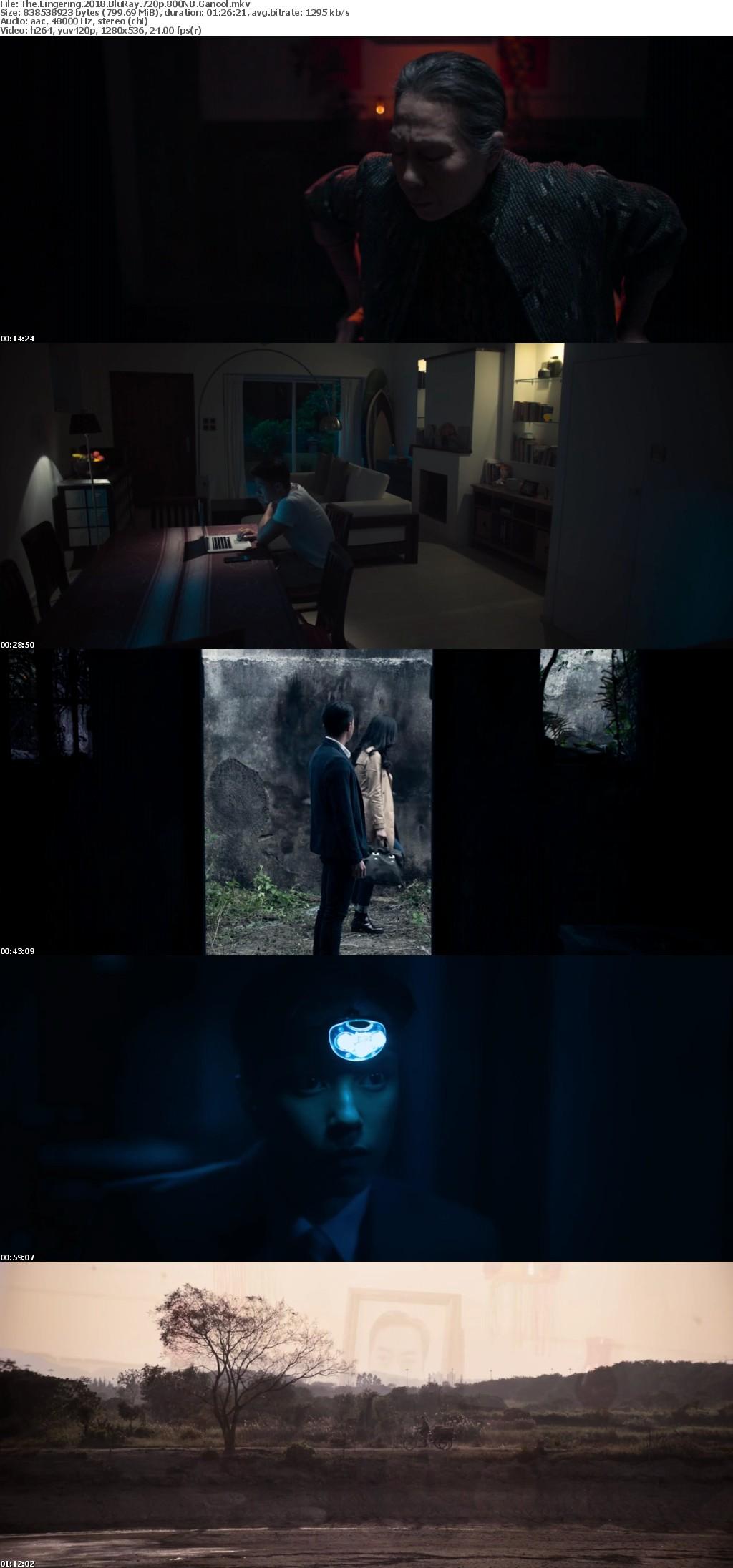 The Lingering 2018 BluRay 720p 800MB Ganool