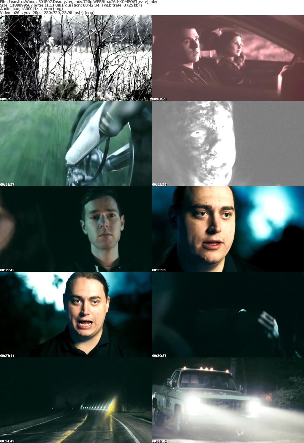 Fear the Woods S01E07 Deadly Legends 720p WEBRip x264-KOMPOST