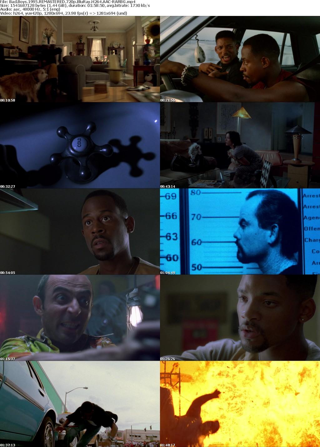 Bad Boys (1995) REMASTERED 720p BluRay H264 AAC-RARBG