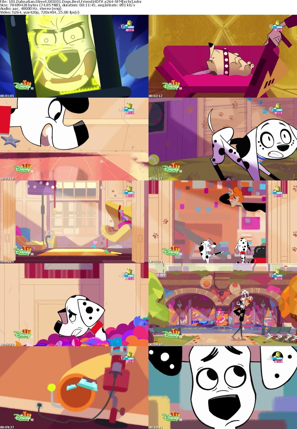 101 Dalmatian Street S01E01 Dogs Best Friend HDTV x264-SFM