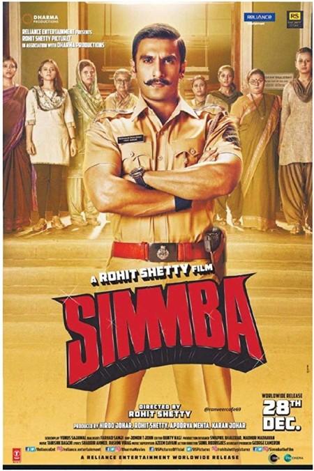 Simmba (2018) Hindi HQ PRE RIP x264 -AAC -1 4GB MOVCR