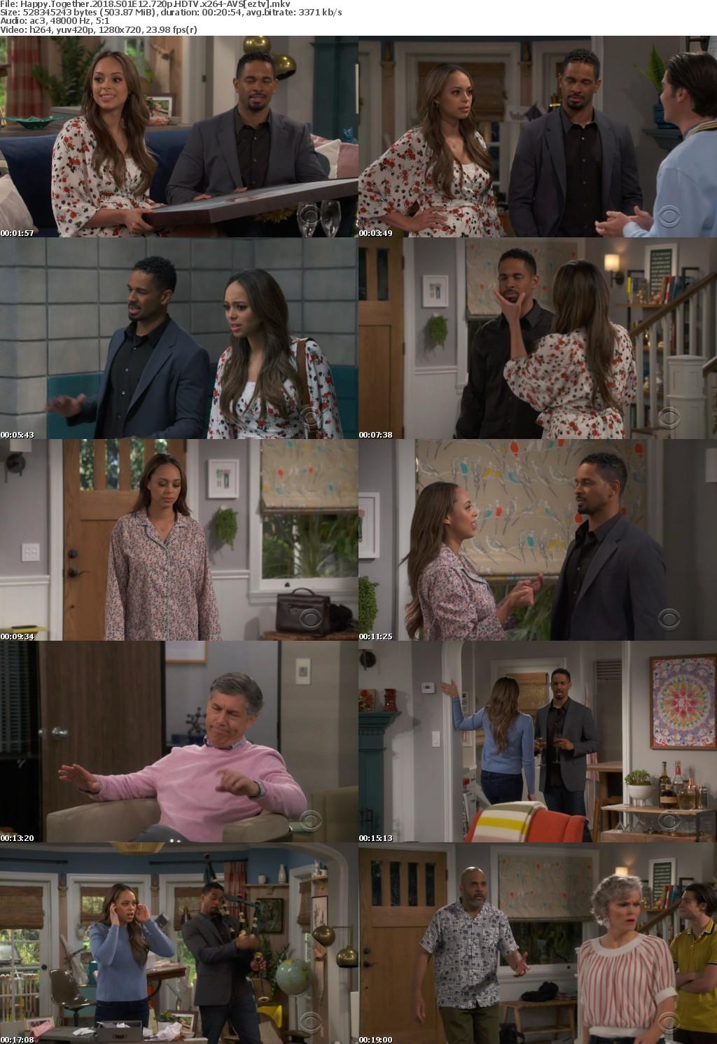 Happy Together (2018) S01E12 720p HDTV x264-AVS