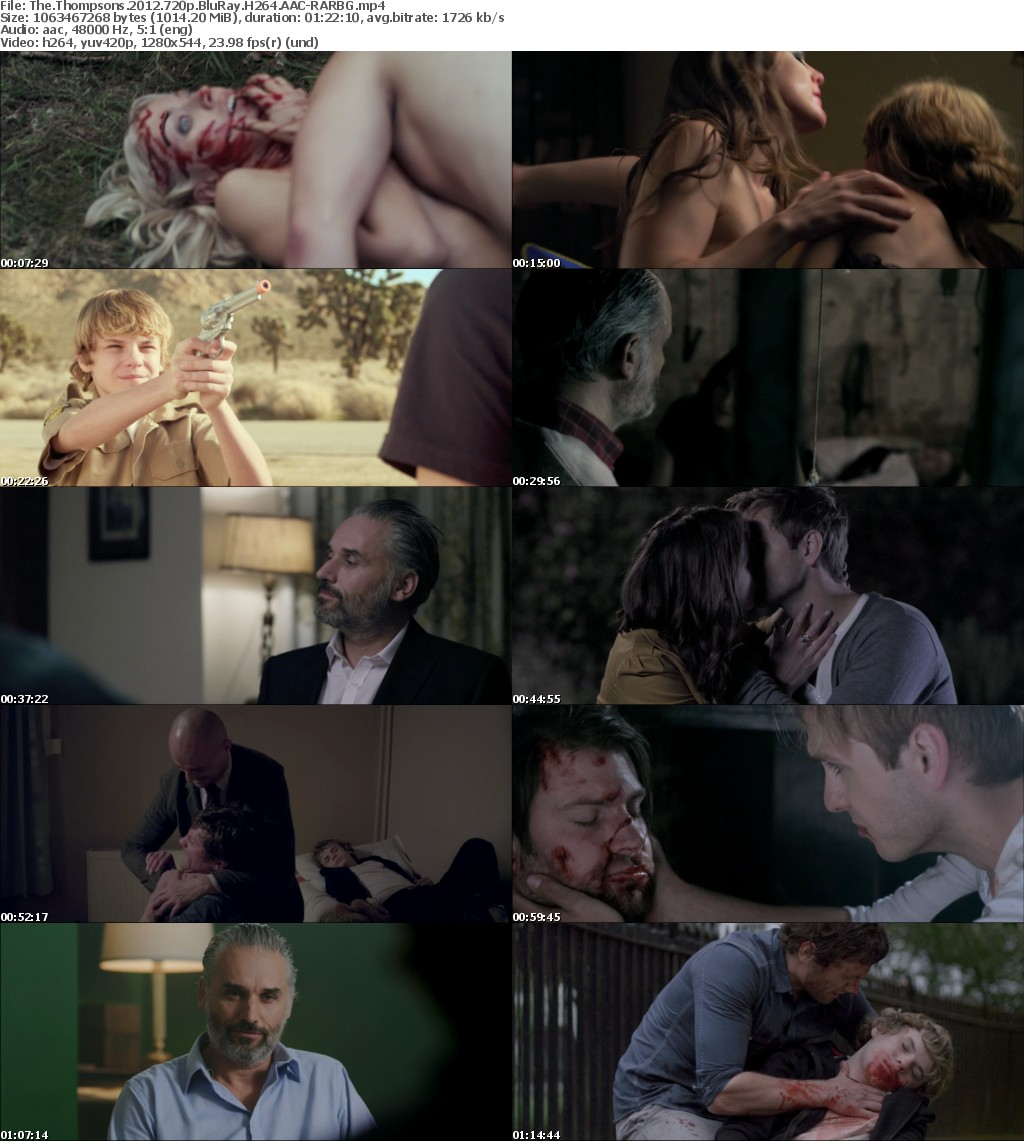 The Thompsons (2012) 720p BluRay H264 AAC-RARBG