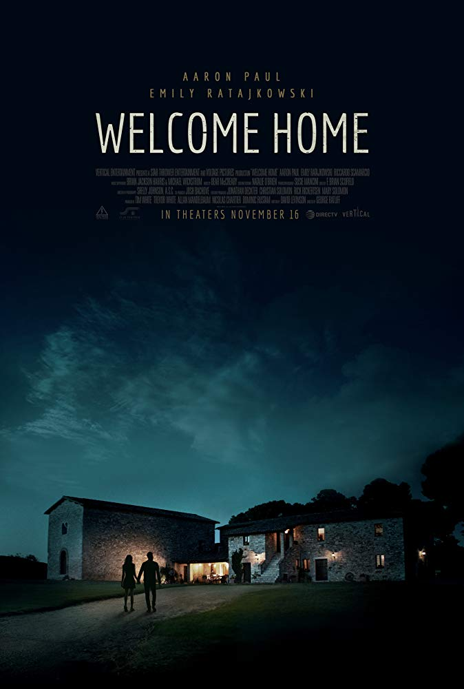 Welcome Home 2018 720p BrRip 2CH x265 HEVC-PSA