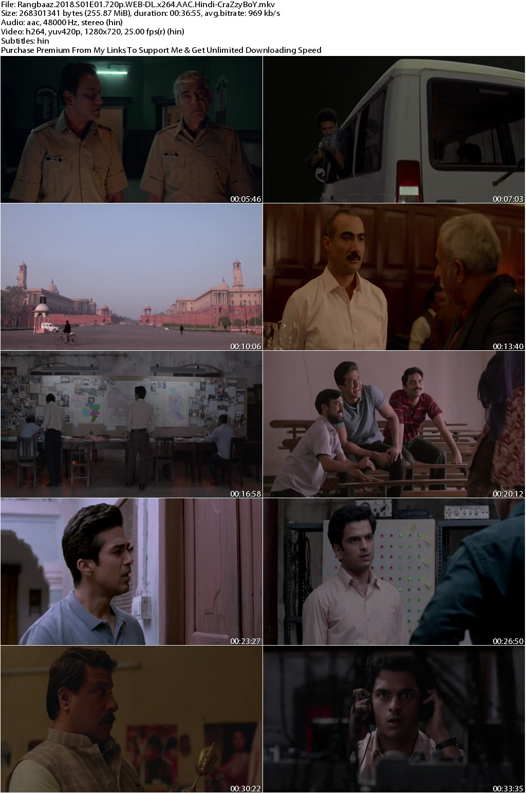 Rangbaaz 2018 Season 01 All 09 Episodes 720p WEB-DL x264 AAC Hindi 2.10GB-CraZzyBoY