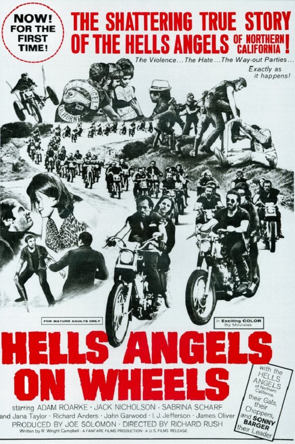 Hells Angels on Wheels 1967 BRRip XviD MP3-XVID