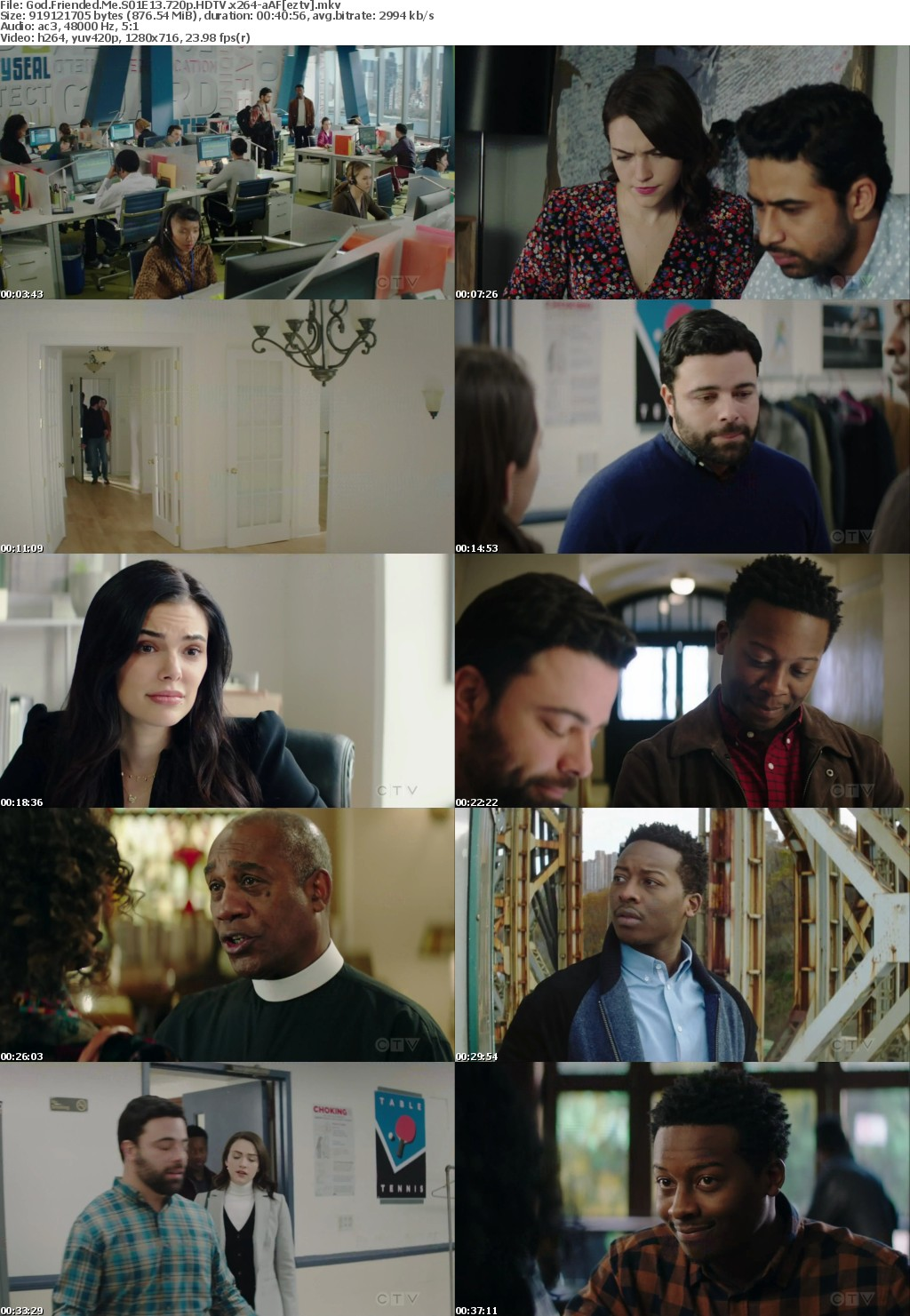 God Friended Me S01E13 720p HDTV x264-aAF