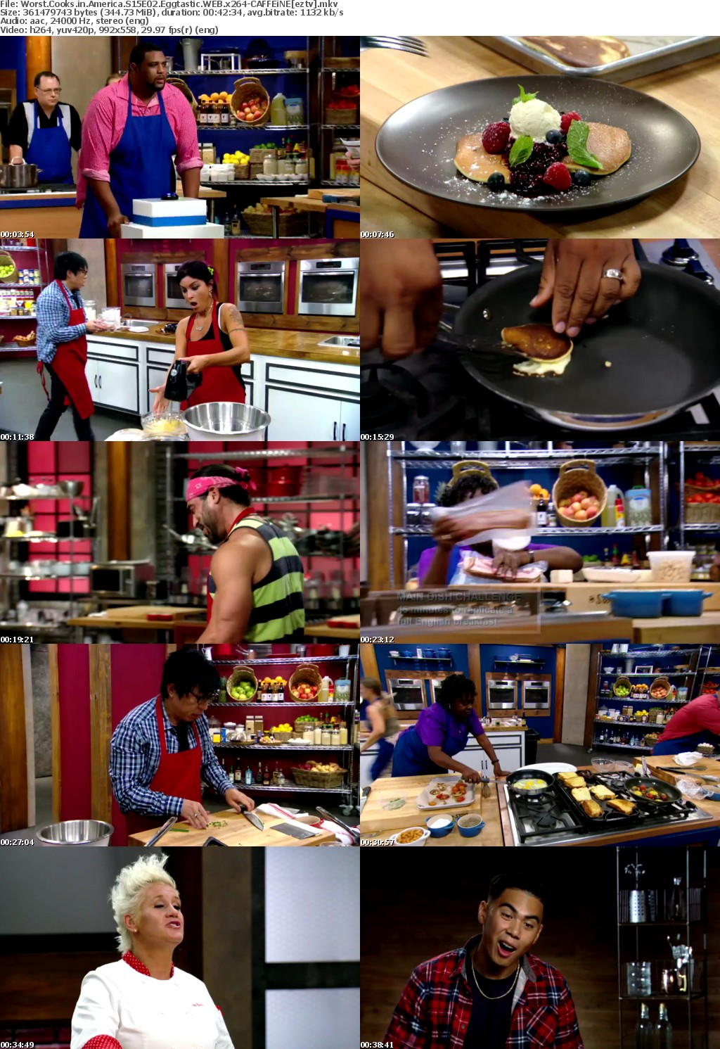 Worst Cooks in America S15E02 Eggtastic WEB x264-CAFFEiNE