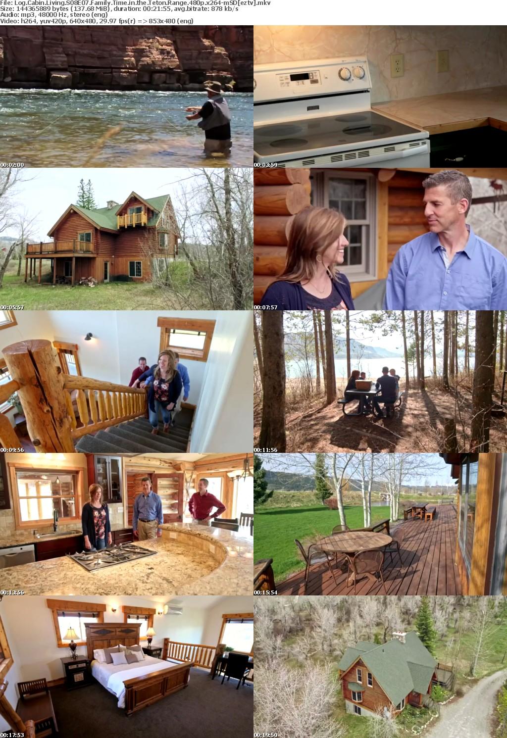 Log Cabin Living S08E07 Family Time in the Teton Range 480p x264-mSD