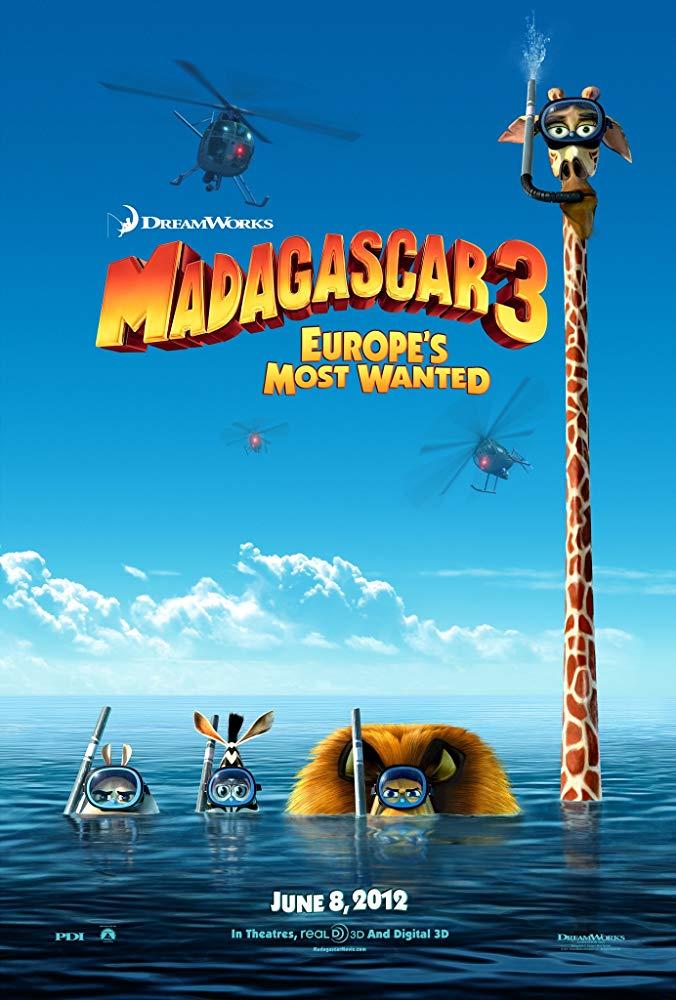 Madagascar 3 Europes Most Wanted 2012 720p BluRay x264-x0r