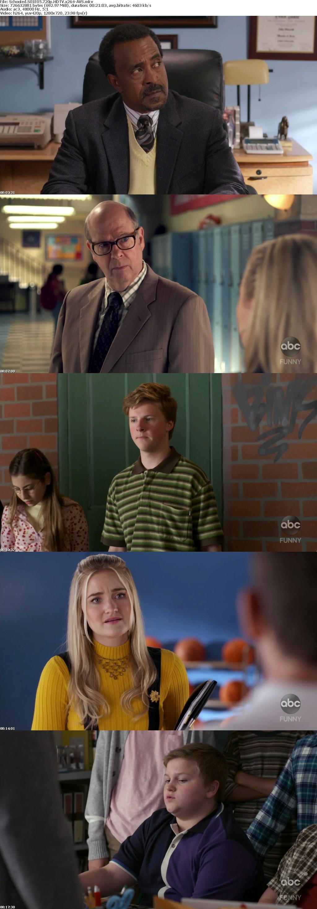 Schooled S01E05 720p HDTV x264-AVS
