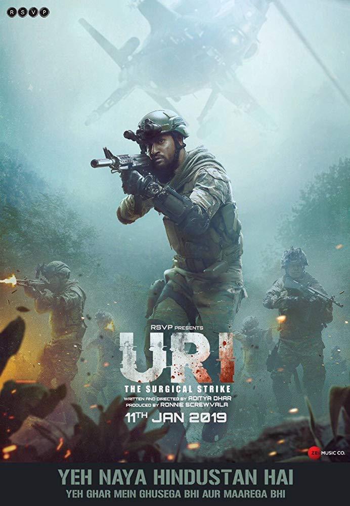 Uri The Surgical Strike 2019 Hindi 720p HDRip x264 AAC - LOKiHD