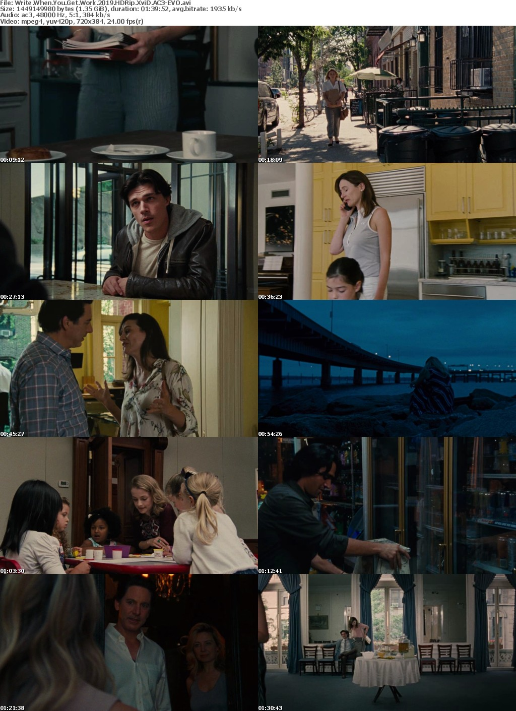 Write When You Get Work (2019) HDRip XviD AC3-EVO