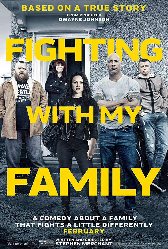 Fighting with My Family 2019 Movies HDCAM x264 Clean Audio New Source