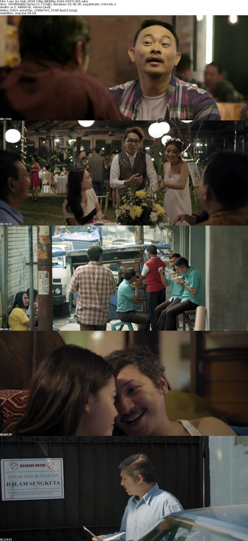 Love for Sale 2018 720p WEBRip X264-OUTFLATE