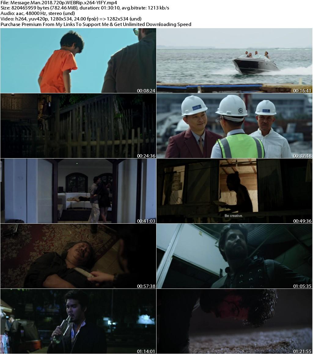 Message Man (2018) 720p WEBRip x264-YIFY
