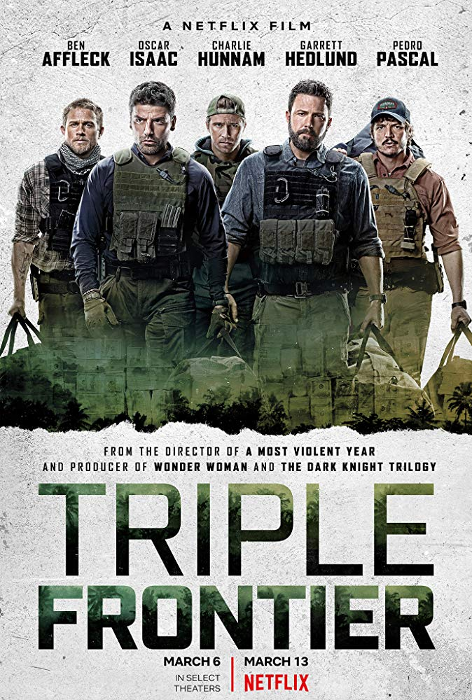 Triple Frontier 2019 720p NF WebRip x264 Eng-Hindi AC3 DD 5 1 [Team SSX]