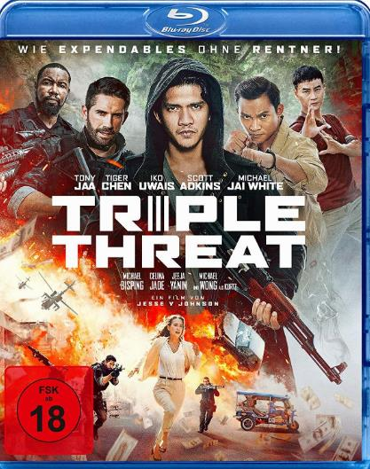 Triple Threat (2019) HDRip AC3 X264-CMRG