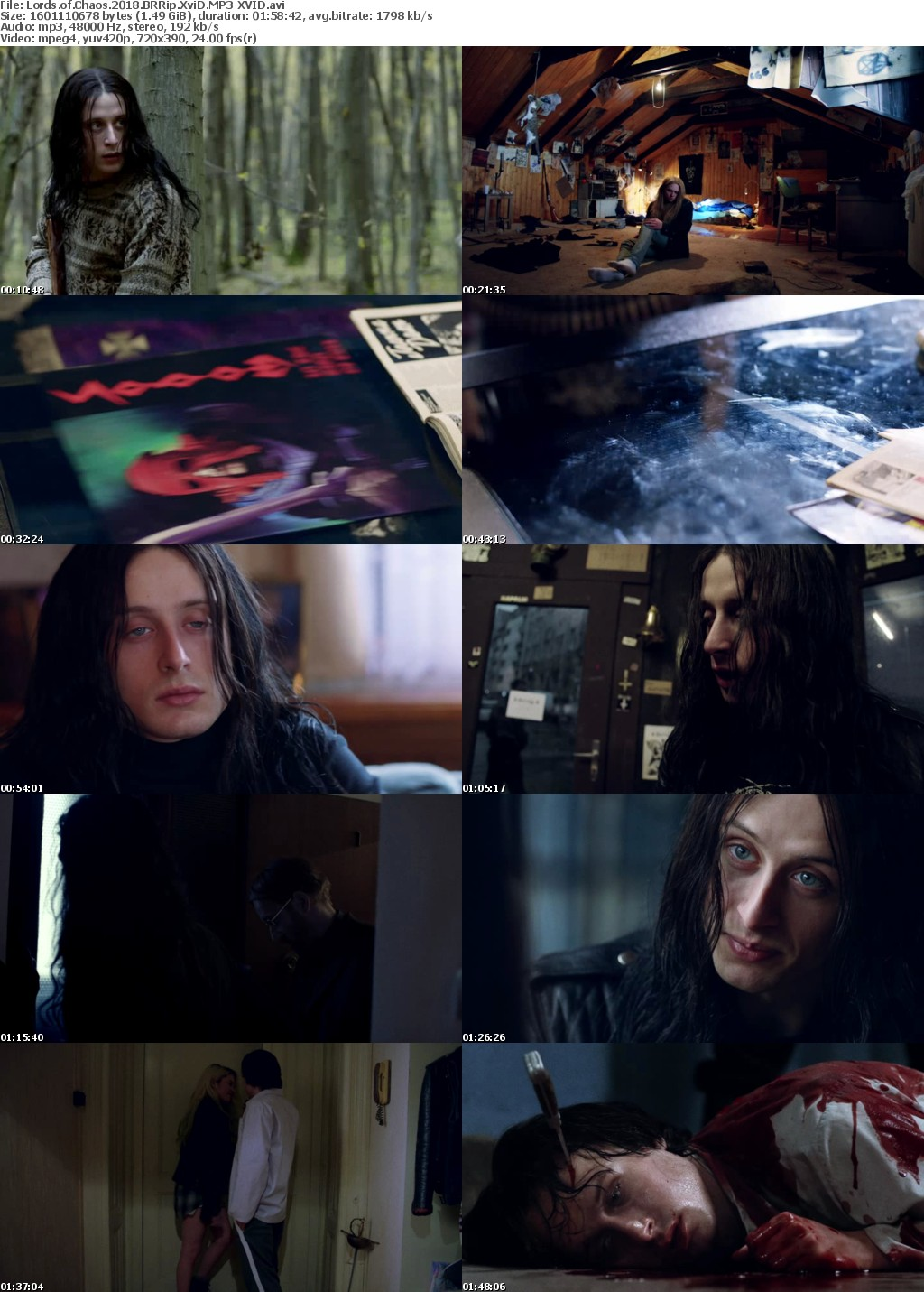 Lords of Chaos (2018) BRRip XviD MP3-XVID