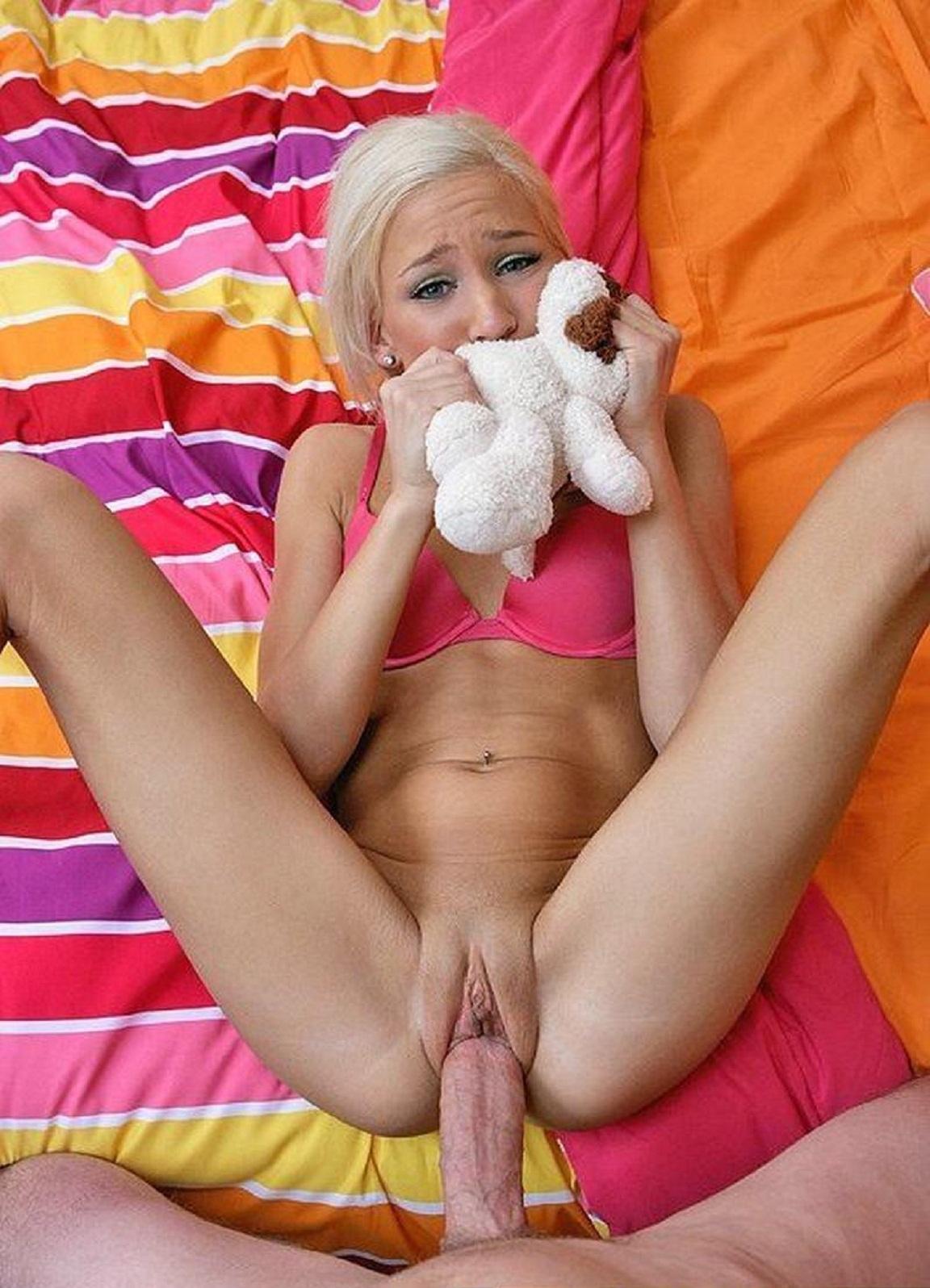 Молодые девушки на больших членах порно