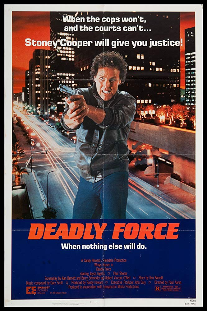 Deadly Force 1983 [BluRay] [720p] YIFY