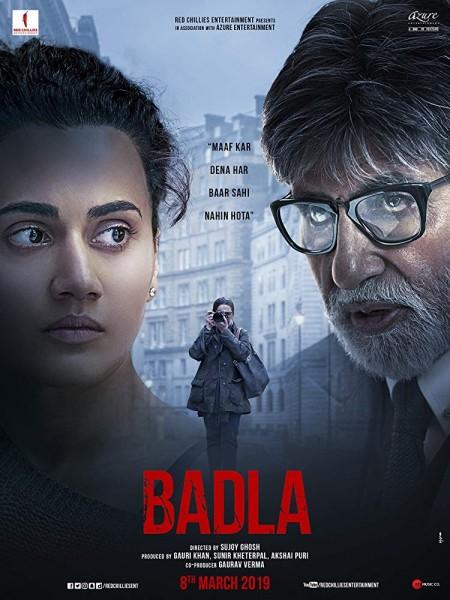 Badla (2019) Hindi 720p HDRip x264 AAC 5.1 MSubs -UnknownStAr Telly